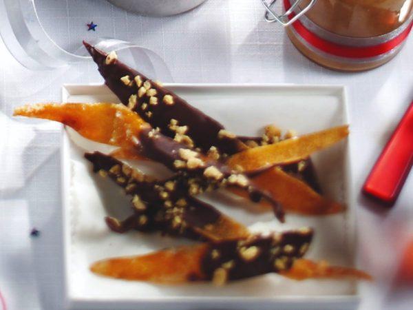 メープルと砂糖漬けのグレープフルーツ樹皮