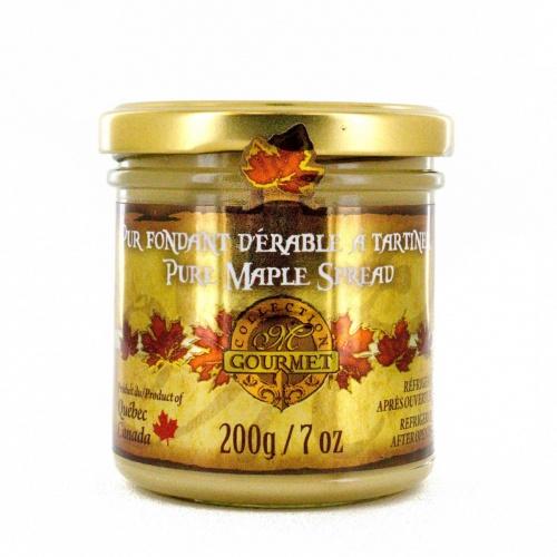 やわらかいピュアメープルスプレッド ( ピュアメープルバター)  200 g