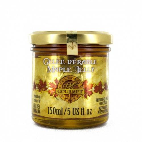 メープルジェリー  150 ml  グルメ用ガラスの壷入り