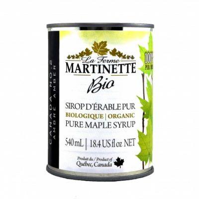 純メープルシロップ – 濃くて味が強い8×540ミリリットル