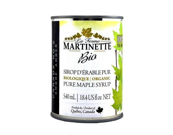 純メープルシロップ – 濃くて味が強い3×540ミリリットル