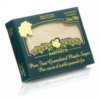 ピュアメープル グラニュー糖 細粒 –  100 g 入り箱