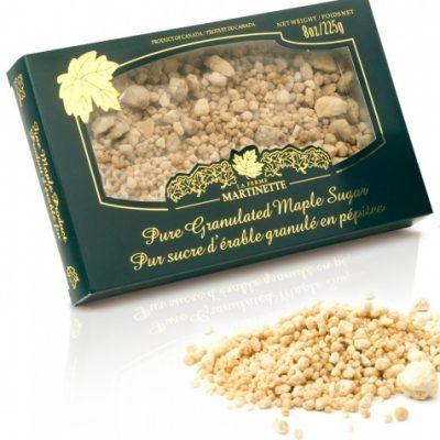 ピュアメープル グラニュー糖 大粒 –  225 g 入り箱