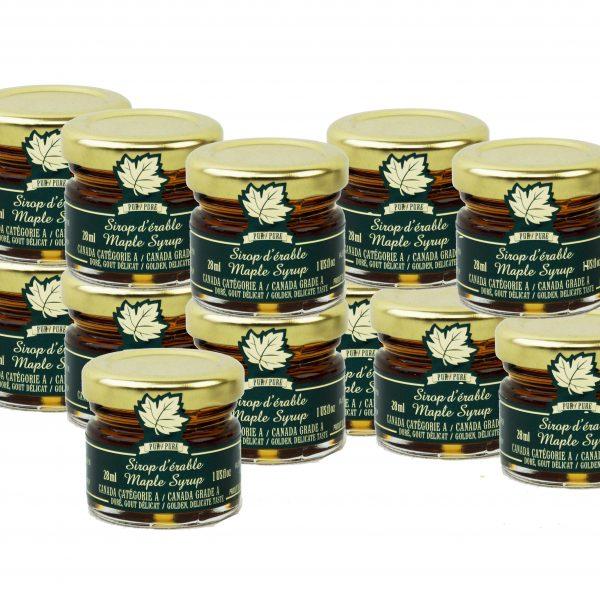 ピュアメープルは、繊細な12x28ml味、カナダ・ドレをシロップ