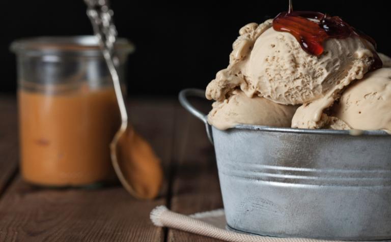 メープルアイスクリーム
