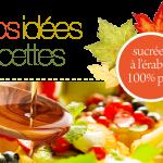 14 succulentes recettes à l'érable Martinette à télécharger