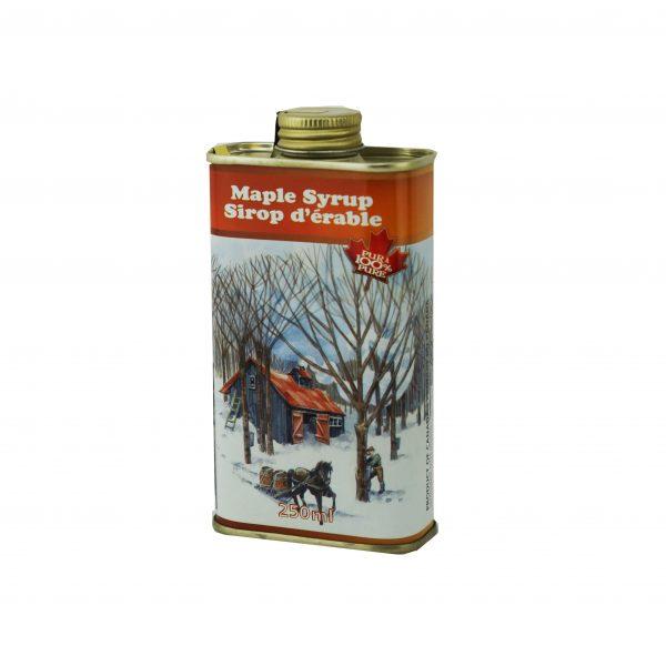 メープルシロップ メタル缶入り、 250ml  カナダA-濃くて強い味