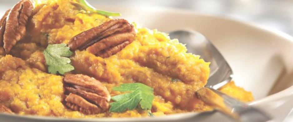 Recette purée patates douces érable