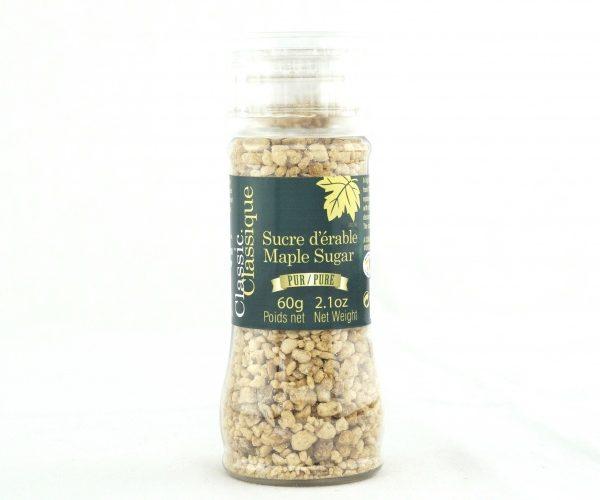 ピュアメープルグラニュー糖 –  60g 挽砕式砂糖入れ容器