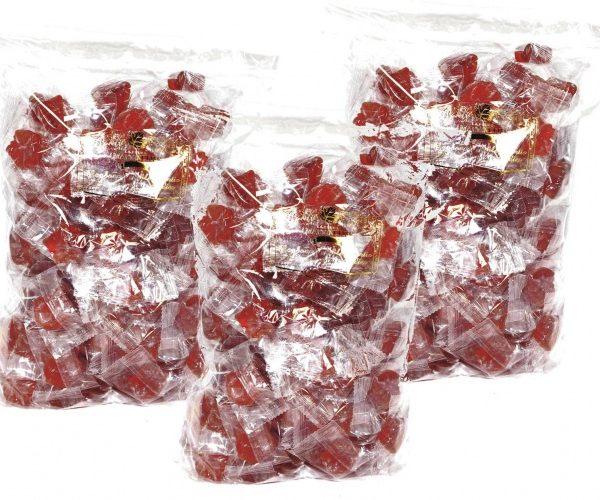 高純質メープルシロップ飴 – 3x1kg 袋