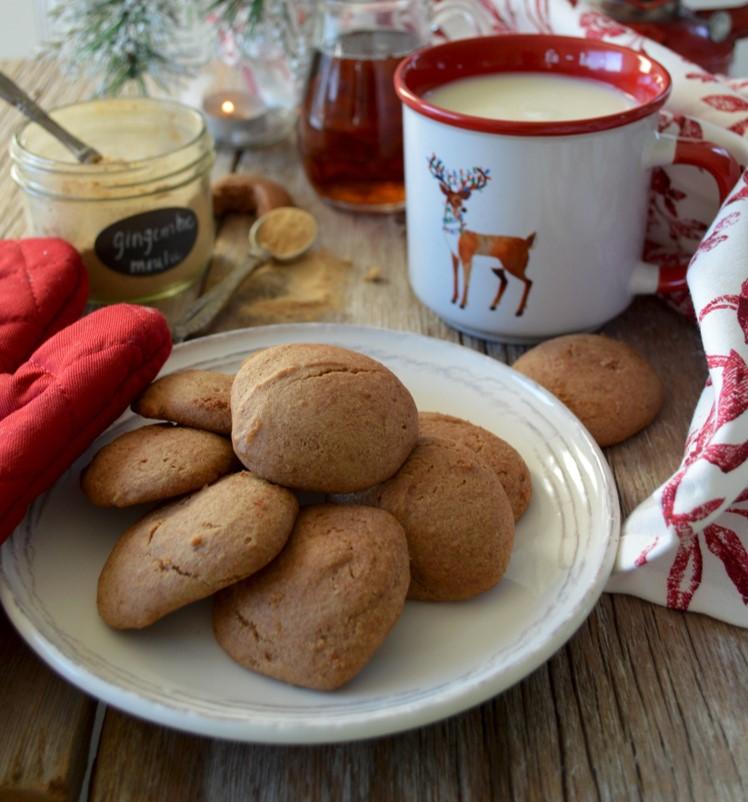 糖蜜とメープルシュガーでまろやかなクッキー