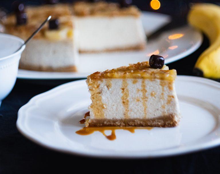 メープルハットとクルミシュガーシャックチーズケーキ